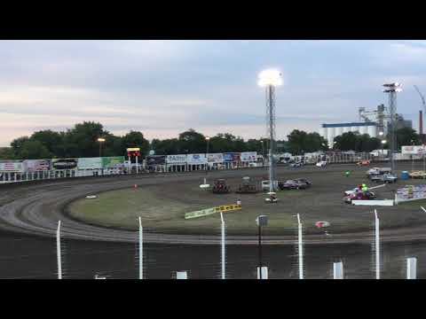 August 9 River Cities Speedway Late model heat 2