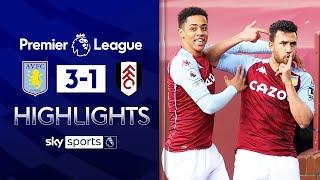 Trezeguet scores twice as Villa comeback stuns Fulham! | Aston Villa 3-1 Fulham | EPL Highlights