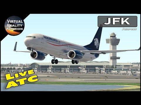 JFK International Airport with Live ATC and Real Airline Flight Schedules | 10 cameras in 10 minutes