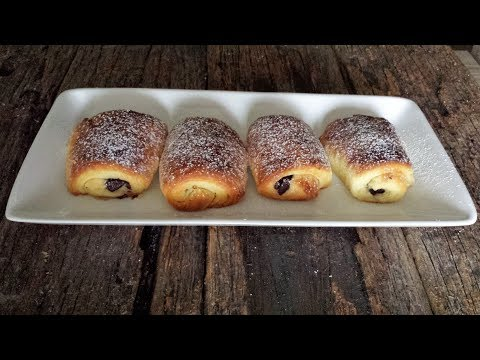 Pain au chocolat recipe from scratch