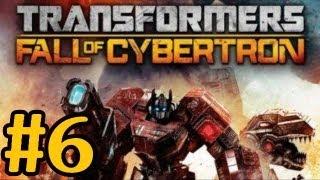 Transformers Fall Of Cybertron Walkthrough Part 6 Metroplex Heads The Call