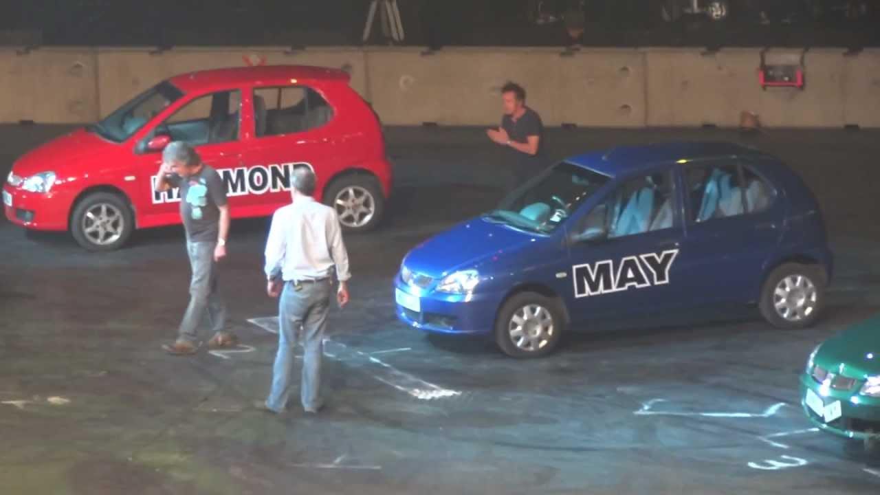 Top Gear Live 2011 - HD - Part 7/7 - Monster Truck Crushing & Lamborghini Hurdling