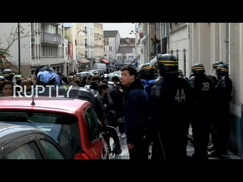 LIVE: Students protest in Paris against police violence