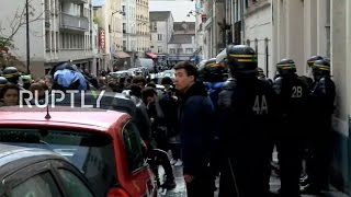 LIVE  Students protest in Paris against police violence