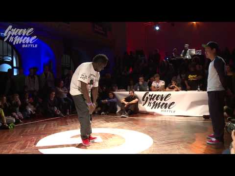 GROOVE'N'MOVE BATTLE 2015 - Popping round of sixteen / Richard Pop vs Chanh