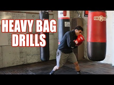 HEAVY BAG DRILLS, IMPROVE YOUR BOXING