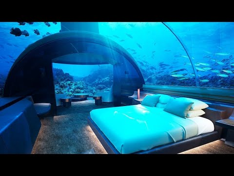 10 Incredible UNDERWATER HOTELS!