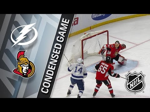 Tampa Bay Lightning vs Ottawa Senators – Feb. 22, 2018 | Game Highlights | NHL 2017/18. Обзор