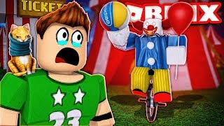 SURVIVE THE CIRCO PAYASO in ROBLOX !! | Roblox Camping Part 30