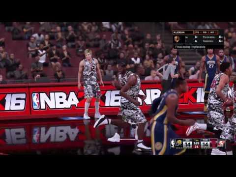NBA 2K16 (PS4) Mi Team Vs Indiana Pacers