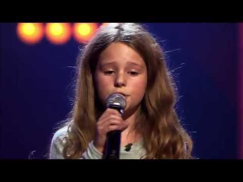 Nouline - 'Une Belle Histoire'   Blind Audition   The Voice Kids   VTM