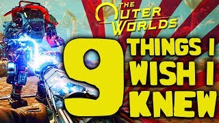 9 Things I Wish I Knew Before Playing The Outer Worlds