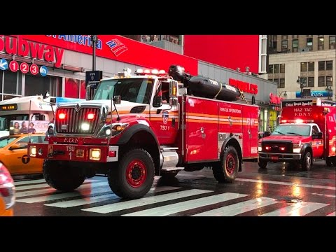 FDNY Major Response To An All Hands Fire 12/29/16