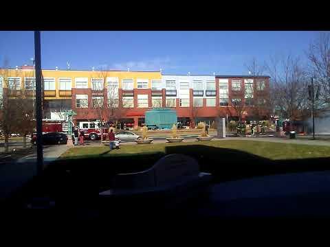 Gas Leak Fire on Colfax Aurora@MLK Public Library Branch