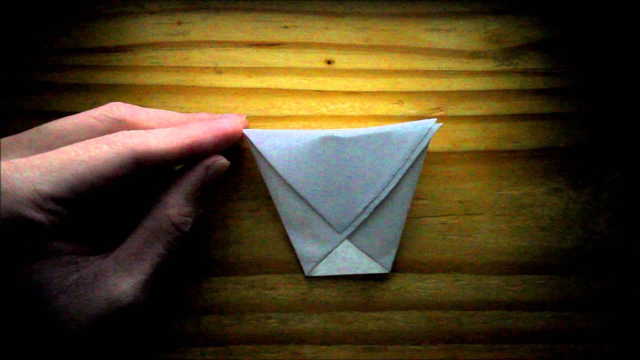 Origami Tea Cup Tutorial
