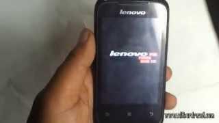 Lenovo A269i Hard Reset