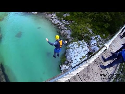 Extreme canyoning and rafting - Bovec (HD) - GoPro Hero 3 Black Edition