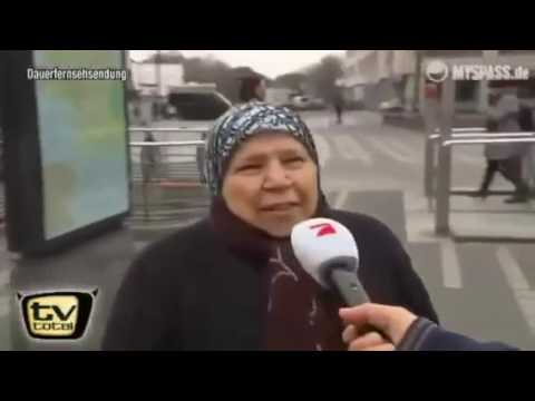 türkische Frau spricht Hochdeutsch 😂😂