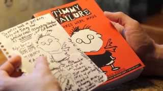 Stephan Pastis on how to draw Timmy Failure and his friends