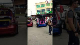 Kuching siburan car show & auto show