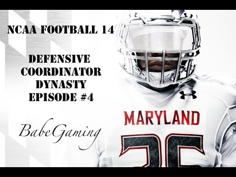 NCAA Football 14 Dynasty: Maryland DC BabeGaming - Russell Athletic Bowl vs Temple FT @BabeGaming