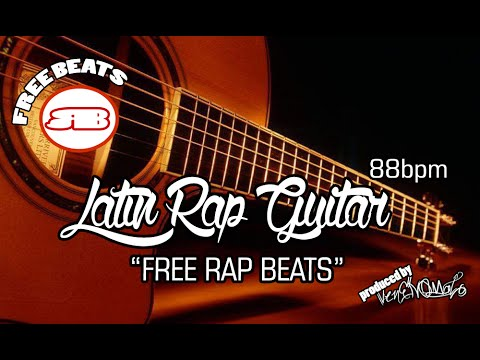 NEW! LATIN RAP BEAT GUITAR UNDERGROUND (USO LIBRE) 2015