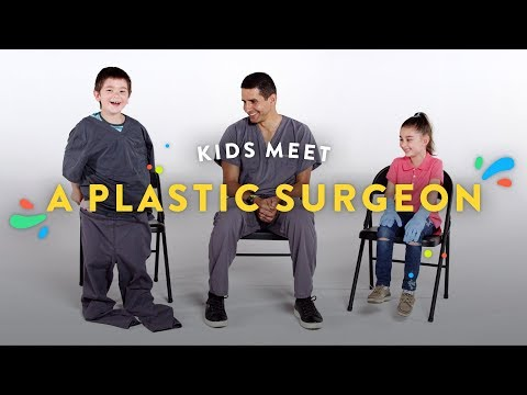 Kids Meet a Plastic Surgeon | Kids Meet | HiHo Kids
