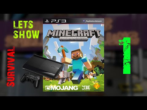 Gameplay : Minecraft : PS3 Edition Survival : Episode 1