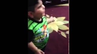رقص عربی پسر بچه :D