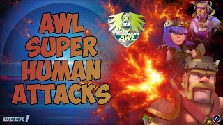 Clash of Clans: SUPER ATTACKERS OF THE AWL