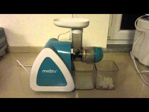 Midzu Slow Juicer - Coconut milk