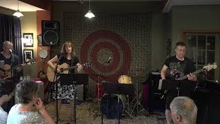 Pam Performing Slow Burn Main Street Music and Art Studio