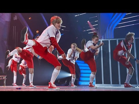 Nu Sxool dance troupe - Britains Got Talent 2012 Live Semi Final - International version