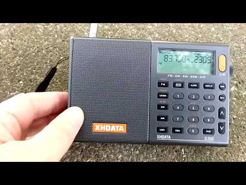 Radiwow R~108 & Xhdata  D~808 на FM , УКВ и АМ.(2)