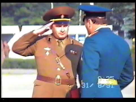 Проводы командира 1 гвардейского танкового полка