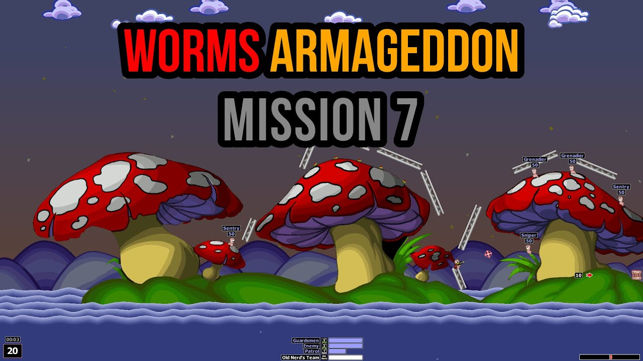 Old Worm Game