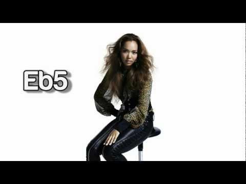 (HD) Crystal Kay Vocal Range - Studio: B2-F6 (1999-2012)
