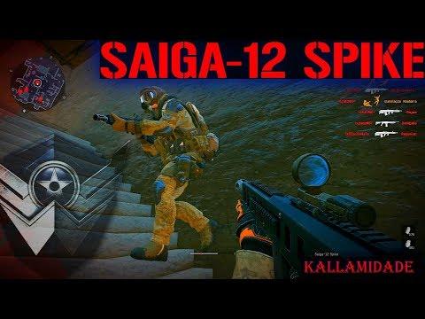 SAIGA12 SPIKE A 12 QUE DERRUBA