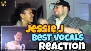 Jessie J - Best Vocals Reaction