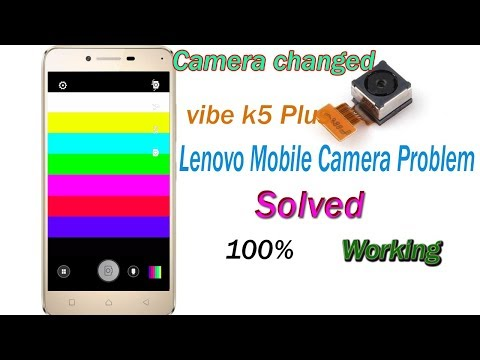 Lenovo Vibe K5 Plus Mobile Camera Rainbow Colours Problem 100% Solved, Camera Changed