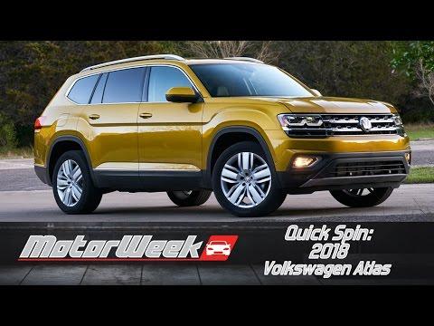 Quick Spin: 2018 Volkswagen Atlas
