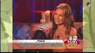 Thalia Habla de la Pérdida de su Mamá | Hoy [02.11.2011]