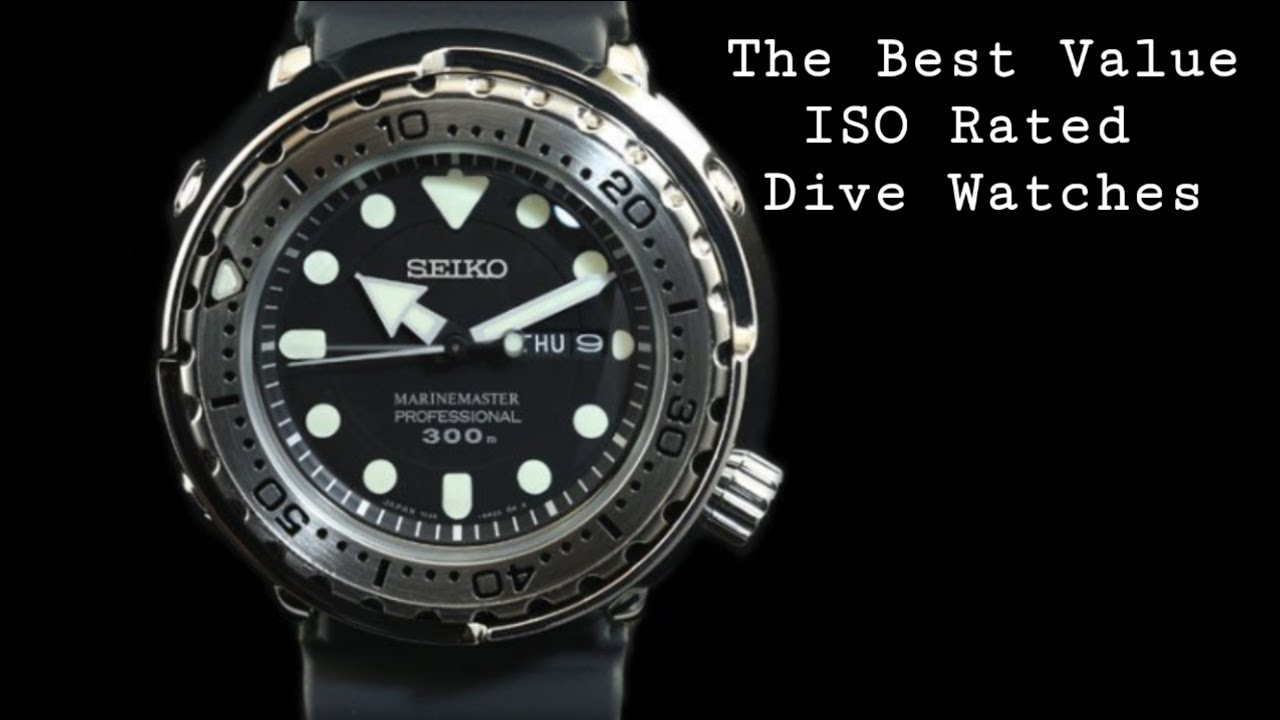 The Best Value Iso Rated Dive Watches