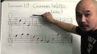 Tự học guitar căn bản bài 19 (3/4_ German Waltz)