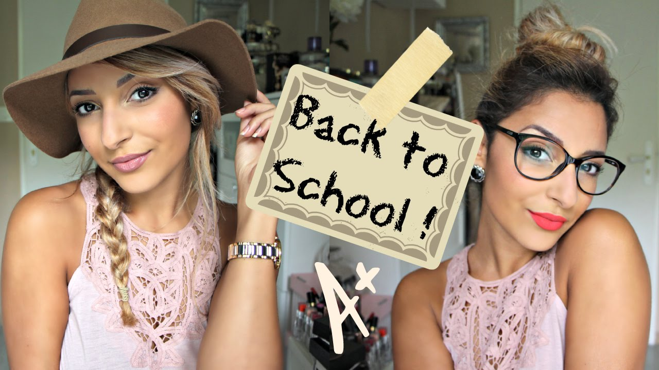 @Sananas: Back to School ♡ Un Make Up deux styles !
