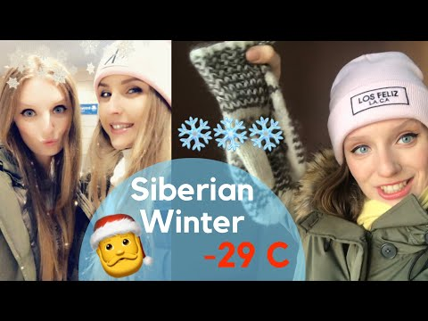 SIBERIAN VACATION: -29C survival, Pelmeni, Higheels, Frozen Cars & MORE