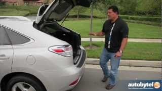 2012 Lexus RX 450h Hybrid Test Drive & Luxury Crossover SUV Video Review