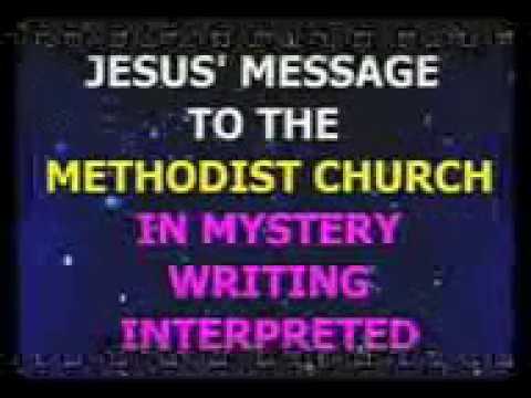 HRMW663 JESUS MESSAGE TO THE METHODIST CHURCH IN MYSTERY WRITING INTERPRETED BY PST PAUL RIKA