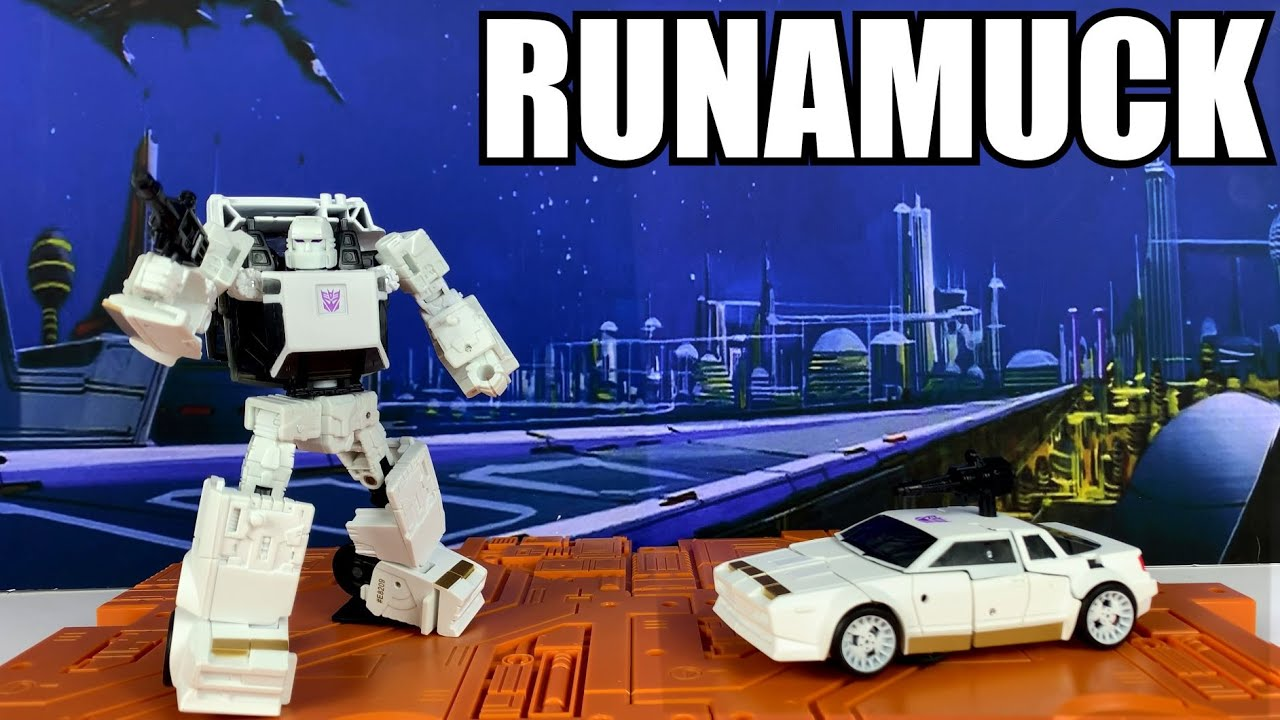 Transformers Earthrise Runamuck Unboxing and Review By Enewtabie