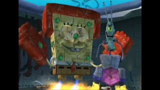Spongebob Squarepants: Battle for Bikini Bottom - Final Boss + Ending - Spongebob Steelpants